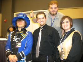 Tekkocon Pic 26 - With Uncle Yo by anime-fan-addict