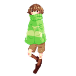 Chara Free Pagedoll by MarchBunny