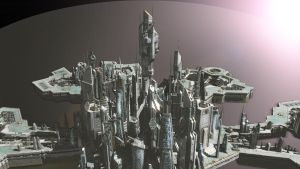 City Of Atlantis- Space by icbreeze