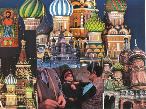 Russia Collage by DC-Art-Therapist