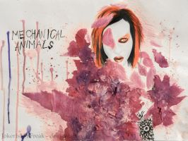 Marilyn Manson - Mechanical Animals by JokerIsMYFreak
