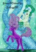 :MLP: DreamyWeaver and MintyCreme by Evilness321