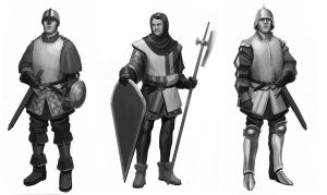 generic knight thumbnails by sir--render