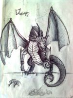 King Dragon by WilliamDreyfus