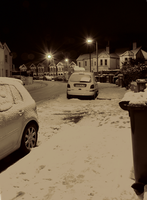 RAW Experiment - Snow at Night by amipal