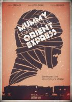 Doctor Who - Mummy on the Orient Express by foreverclassic