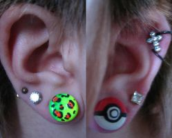 Custom Ear Plugs by fallenxxangel727