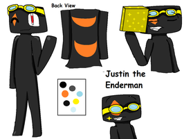 Justin the Enderman by pokelover897