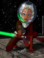 Ahsoka Space Outfit by Cuervex
