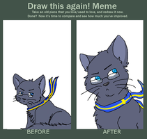 Sweden Cat :REDRAW MEME: by vomitcunt