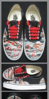 custom  shoess by bullettattoobg