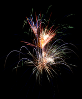 July 4th 2013 Fireworks 2 by WayvDesigns