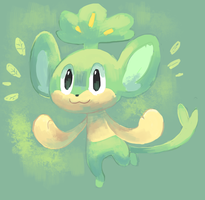 Pansage! by sweating
