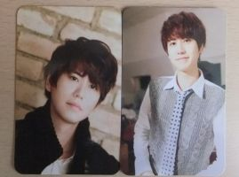 K.R.Y Promise you Kyuhyun's photocards ~ by CheekyFlower