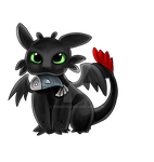 Toothless by Yunuyei