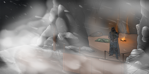 DayZ - Snowy Mountain Cave - V2 by LordSarito