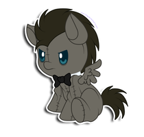 Discord Whooves plushie by hikariviny