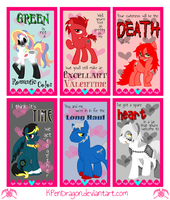 MLP: Fandom Valentines by KPenDragon