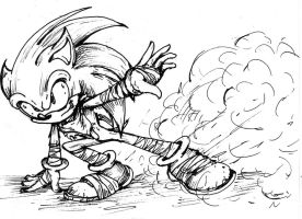 Sonic Boom Doodle by MissTangshan95