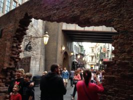 To Diagon Alley by dragoon811
