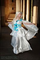Saint Seiya - Goddess Artemisa by Neferet-Cosplay
