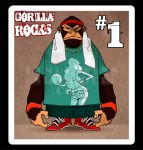 Gorilla ROCKS by sipries