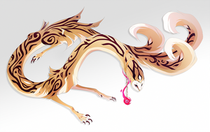 Adoptober: Gold Filigree by Sheylu