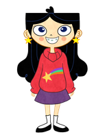 Isabella as Mabel by heeyjayp17