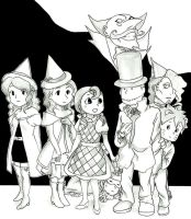 Professor Layton - Ready to join Oz by Blychee