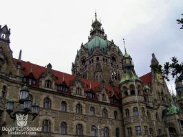 City Hall of Hannover - Germany by DecepticonSeeker