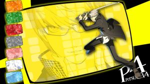 Crazy Eights: Persona 4 - Yu by MrJechgo