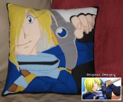 Gourry the Pillow by IchibanVictory