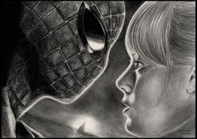 Spiderman and Gwen by foxartsbrazil