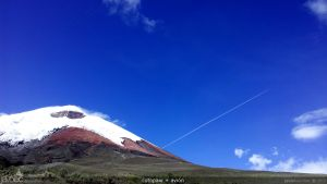 cotopaxi + avion by javoec