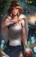 Princess Mononoke by NOPEYS