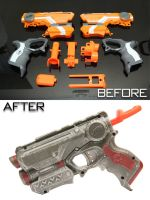 Customised Nerf Firestrike by SWAT-Strachan