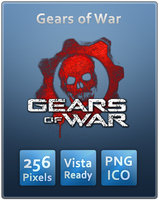 Gears of War Skull Icon by Th3-ProphetMan