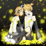 Rin and Len Append by Kazuyo49