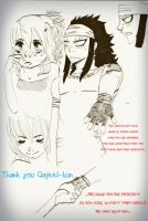 Thank you Gajeel by 191195