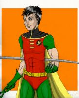 Tim Drake by DeeDraws