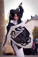 Dark Link on Connichi by Katsuya-neechan