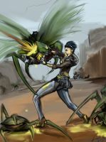 Half life - Alyx And The Ant Lion by BigBabyLuc