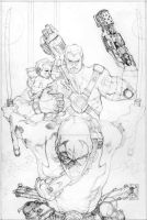 CABLE N 25 COVER PENCILS by simonebianchi
