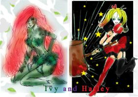 Ivy and Harley by h-i-n-a-y-u-m-e