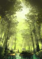 Shiny forest by namDs666