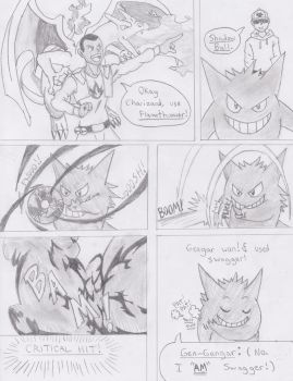 Gengar used Shadow Ball! by dragonman12