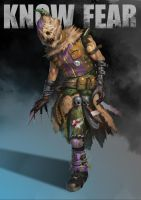 Scarecrow Redesign by orochi-spawn