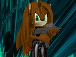 Hedgie Hannah - Lock and Load by Rachidna