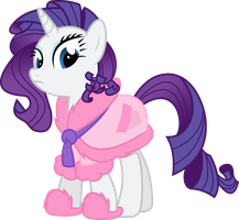 Slightly Insane, But Cute, Rarity by ThePoneSenpai
