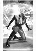 Sue Storm Invisible Woman by TimGrayson